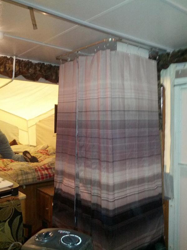 Pop Up Shower Curtain Soozone